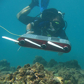 Probing the depths with robotics