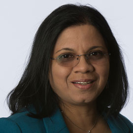 Rekha Patel, 2016 Mungo Graduate Teaching Award recipient