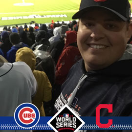 Three Gamecocks attend a World Series game