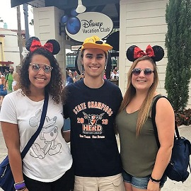 Students at Disney World