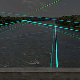 Southern Lights public art rendering