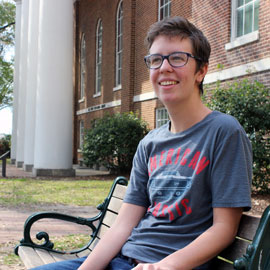 Julia Hogan, a senior in the South Carolina Honors College