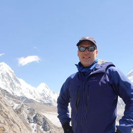 Alumnus Allan McLeland has climbed Mount Everest and swum the English Channel