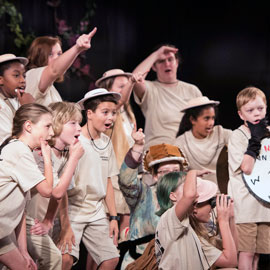USC Opera creates a safari during weeklong camp