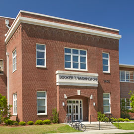 booker t washington auditorium building