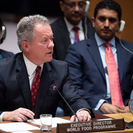 david beasley speaks at UN