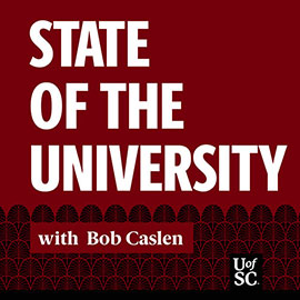 graphic for State of the University with Bob Caslen