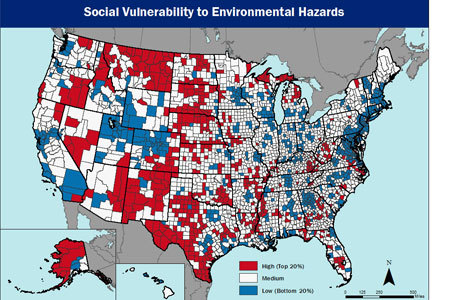 Social Vulnerability to Environmental Hazards