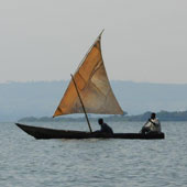 Boat off Buvuma Islands
