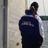 Taking the helm: Students learn sailing, leadership
