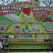 Fried food vendor