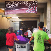 VIDEO: They're back! Students move-in to the residence halls.