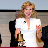 Darla Moore rings open new era for business school