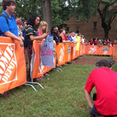 College GameDay on the UofSC Horseshoe