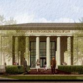 VIDEO: UofSC breaks ground on new Law School building