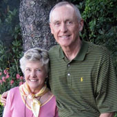 Fred Tollison, '64 engineering, and his wife, Sarah Belle