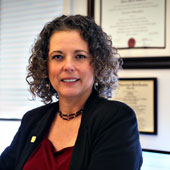 College of Social Work Dean Anna Scheyett