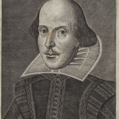 Martin Droeshout engraving William Shakespeare