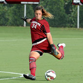 Goalkeeper and President's Award winner Sabrina D'Angelo was drafter by the Western New York Flash during her last semester at the University of South Carolina.