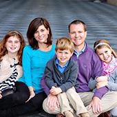 Trey and Shannan Ackerman family