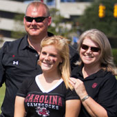 UofSC student and family