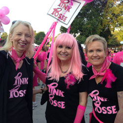 Walk for Life 2013 Pink Posse