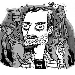 Sam Spina self portrait